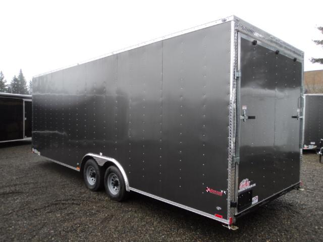 2018 Cargo Mate E-series 8.5x24 10K w/Extra Height/5K D-rings Enclosed Cargo Trailer