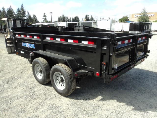 """2017 Load Trail 7x12 10K w/Tarp Kit/Ramps/24"""" Sides Tandem Axle Dump"""