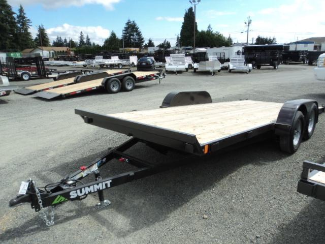 2017 Summit Cascade 7x18 7K TILT Car / Racing Trailer