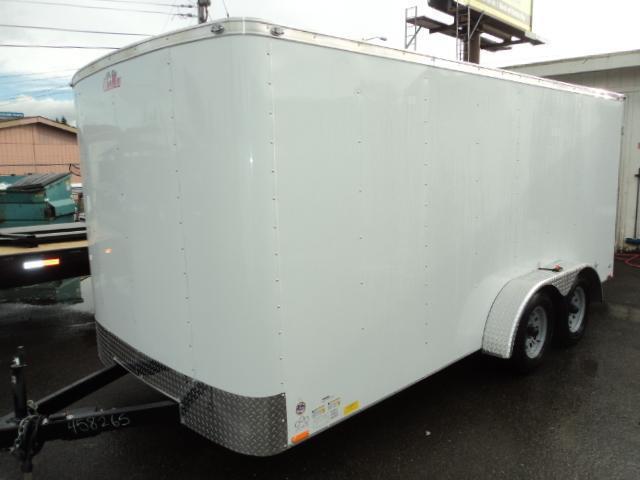 2018 Cargo Mate Challenger 7X14 7K w/Rear Cargo Doors