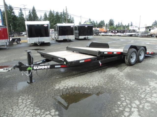 2018 Summit Denali Pro 7x20 14K Tiltbed  Car / Racing Trailer