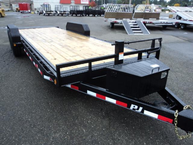 2018 PJ Trailers 7X20' 14K Powered Full Tilt Trailer