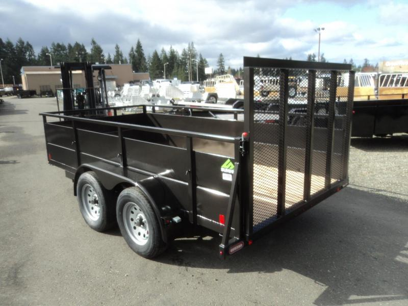 2018 Summit Cascade 6x12 Dual Axle Utility Trailer