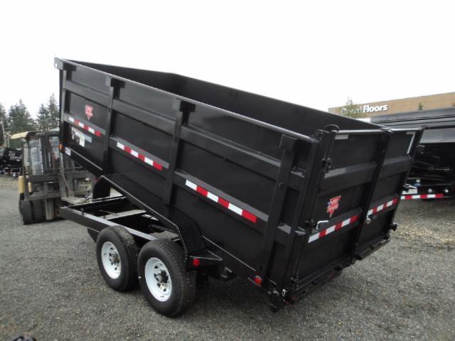 2018 PJ 7x14 14K High Side Dump w/10K Jack/Tire Mount