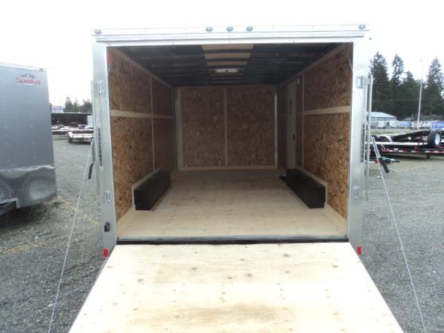 2020 Cargo Mate Challenger 8.5x16 7K w/Rear ramp door/Vent