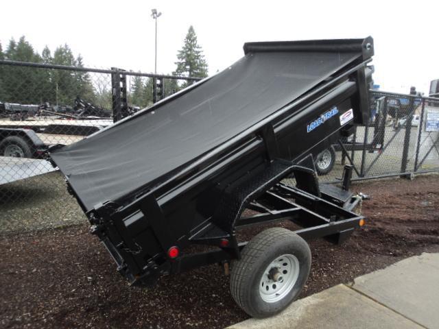 2017 Load Trail 5X8 5K w/Tarp kIt Single Axle Dump