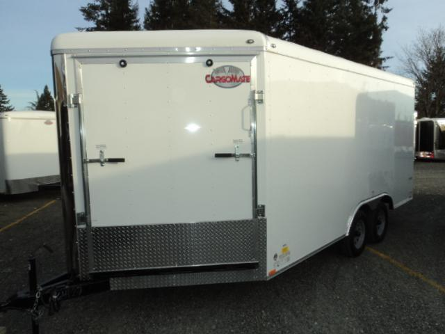 2017 Cargo Mate 8x16 7k Wedge with front Ramp/Extra Height +++ Cargo / Enclosed Trailer