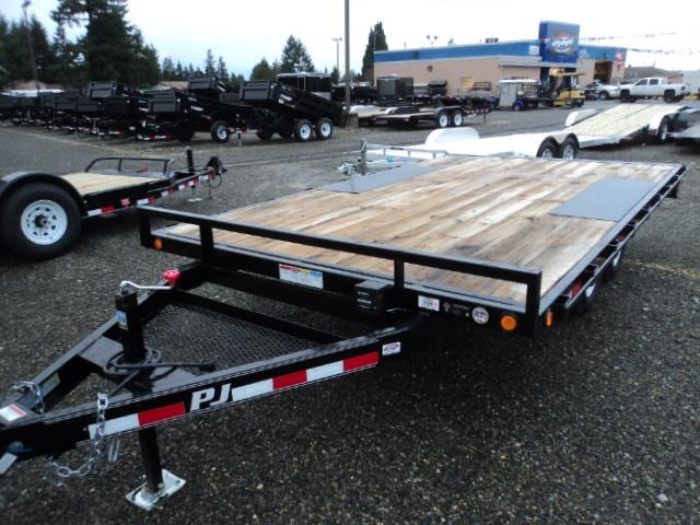 "2018 PJ 8X16 10K Med. Duty Deckover 6"" Channel Trailer"