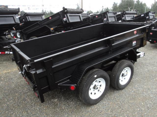 2018 PJ Trailers 5x10 7k w/Tarp Kit