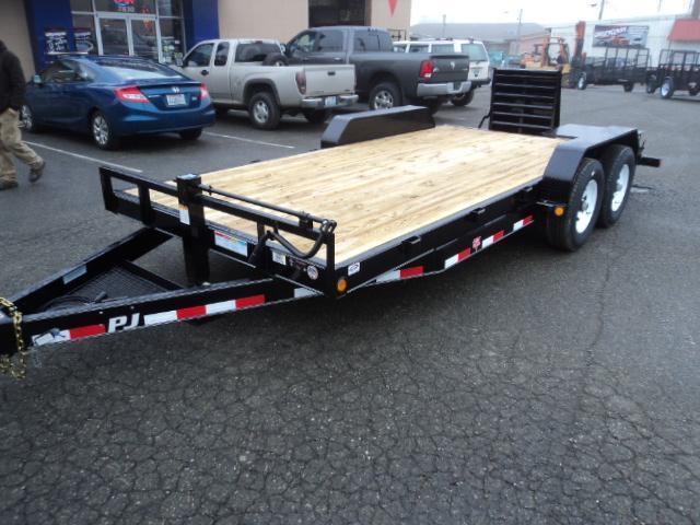 2017 PJ Trailers 7x20' 14K Channel Equipment Trailer