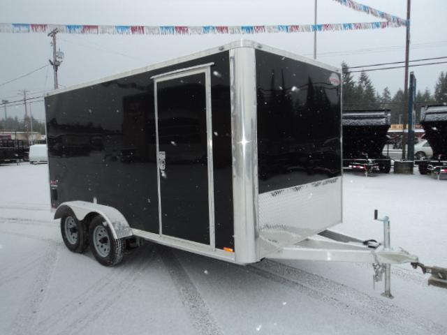 2017 Cargo Mate Aluminum 7x14 7k Enclosed Cargo Trailer