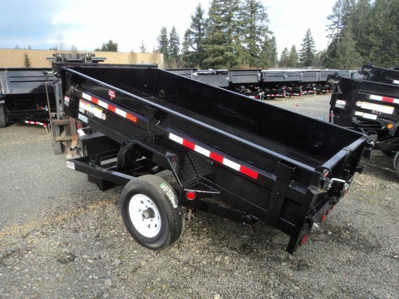 2020 PJ Trailers 5x10 5K w/Tarp Kit Dump Trailer