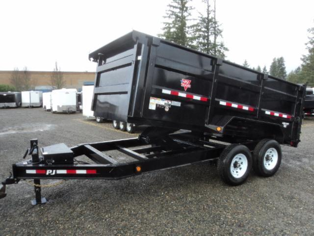 2019 PJ Trailers 7x14 High Side Dump w/4ft Sides/10K Jack Upgrade