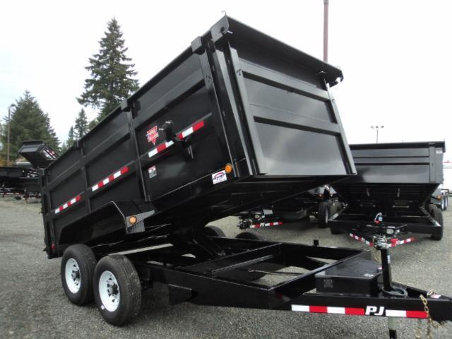 2018 PJ 7x14 14K High Side Dump Trailer