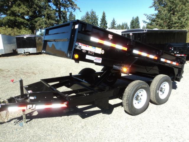 2017 PJ Trailers 6X12 7K Tandem Axle Dump Trailer