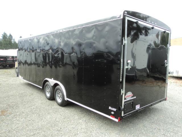 2019 Cargo Mate Blazer 8.5x24 10K w/Extra Height/Battery/Spare Tire/5K Tie Downs/Ramp Door