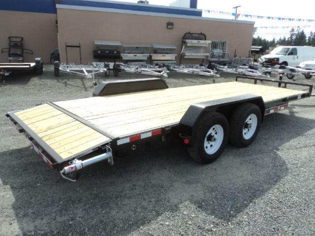 "2018 PJ Trailers 7X20 10K 5"" Channel Equipment Trailer"