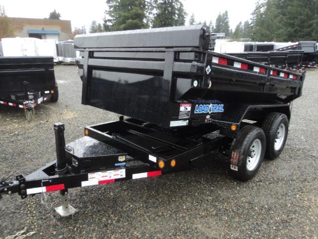 "2018 Load Trail 5x10 10K W/24"" KING SIZE Sides and Tarp Kit"