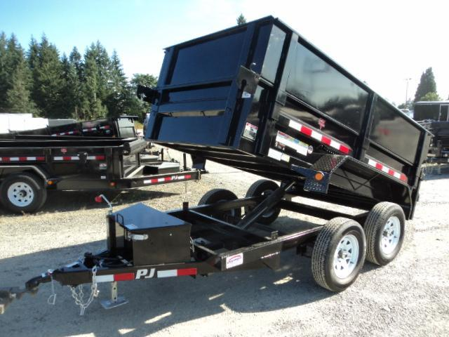 "2018 PJ Trailers 5x10 7k w/18"" Side Ext Kit/Tarp Kit Dump Trailer"