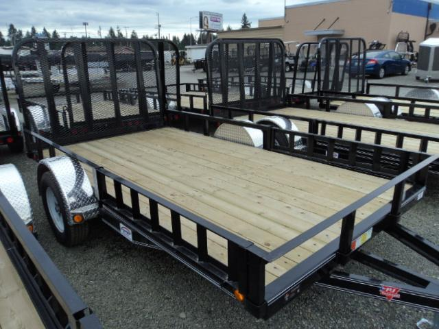 2018 PJ Trailers 6.5X14 Single Axle Utility Trailer