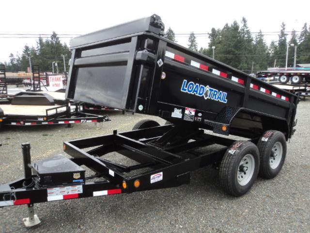 "2018 Load Trail 6X12 10K w/24"" Sides/Tarp Kit/Ramps  Dump Trailer"