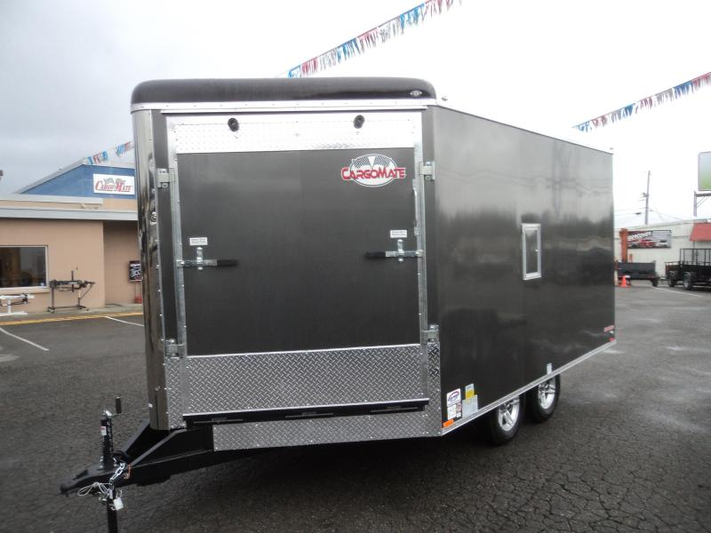 2019 Cargo Mate Snowbird 8.5x16 7K Snowmobile Enclosed Trailer