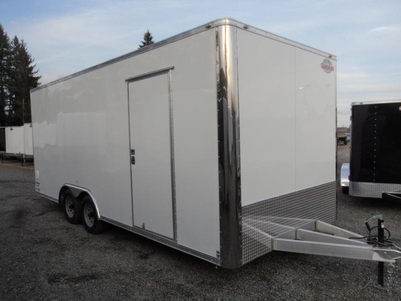 2020 Cargo Mate Aluminum 8.5x20 7K with Extra Height