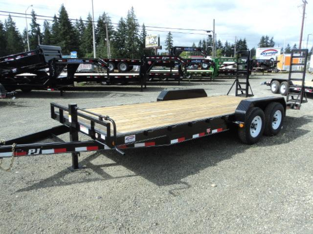 2018 PJ Trailers 7x18 14k Channel Equipment Trailer