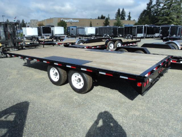 "2020 PJ 8.4X18 10K Med. Duty Deckover 6"" Channel Trailer"