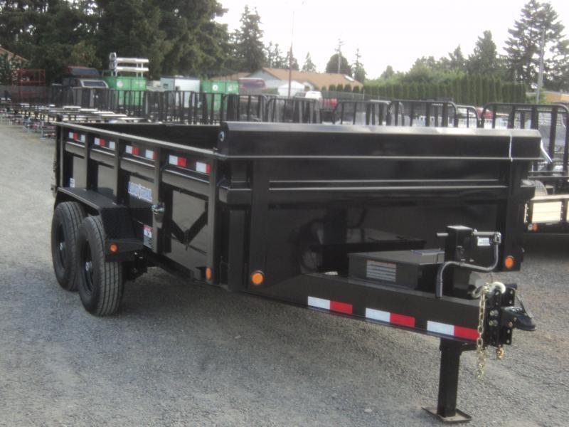 """2020 Load Trail 7X14 14K w/Tarp Kit/24"""" sides/10K JACK"""