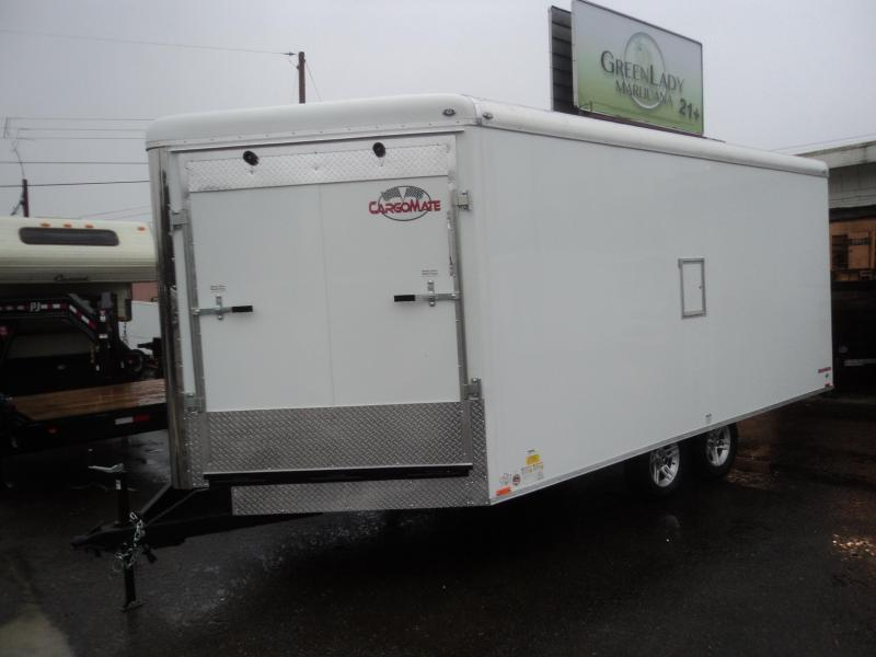 2018 Cargo Mate SB8520TA2 Snowmobile Trailer