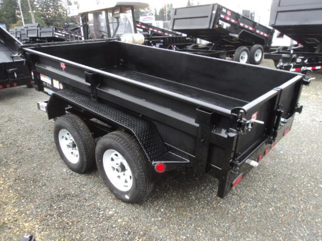 2018 PJ Trailers 5x10 7k w/Spare Tire and Tarp Kit