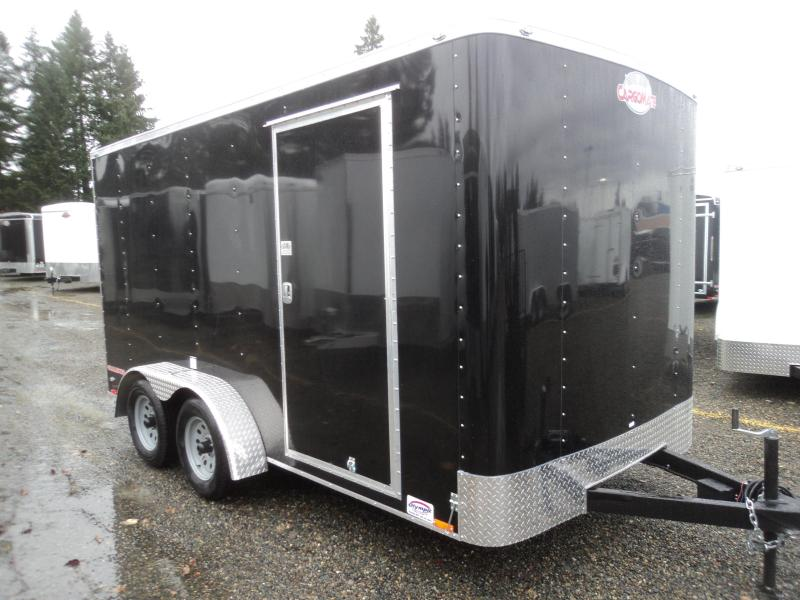 "2018 Cargo Mate Challenger 7X14 +6"" Height  w/Rear Ramp Door Enclosed Cargo Trailer"
