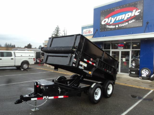2020 PJ Trailers 5x10 10K With Tarp Kit/Side Extension Kit/Ramps