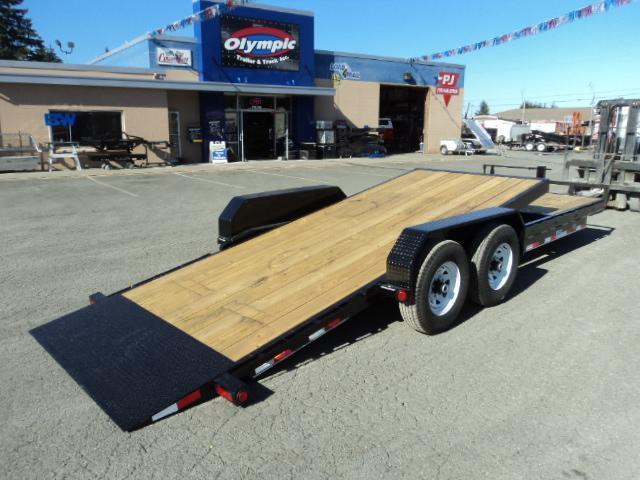 2020 PJ Trailers 7x24 14K Channel Equipment Tilt Trailer