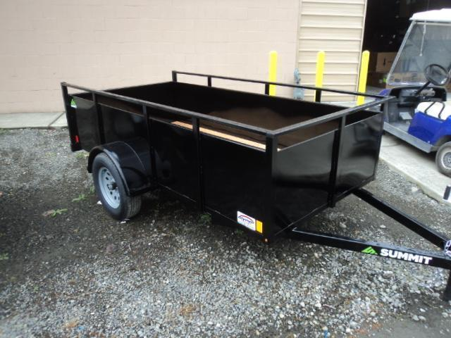 2020 Summit Alpine 6X12 Single Axle W/Split Ramp Utility Trailer