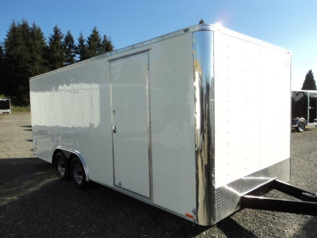 2018 Cargo Mate E-SERIES 8.5X20 7k w/Rear Ramp door Enclosed Cargo Trailer