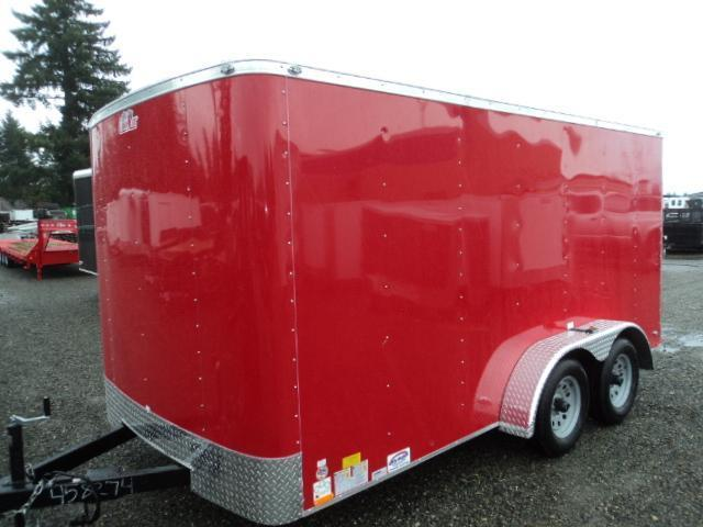 2016 Cargo Mate 7x14 With Rear Ramp Cargo / Enclosed Trailer