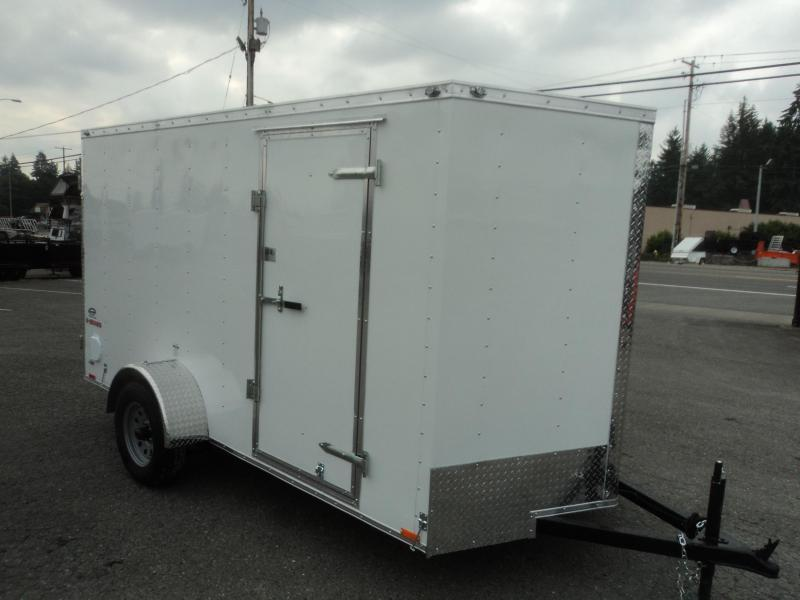 2020 Cargo Mate E-series 6X12 Cargo Trailer With Ramp