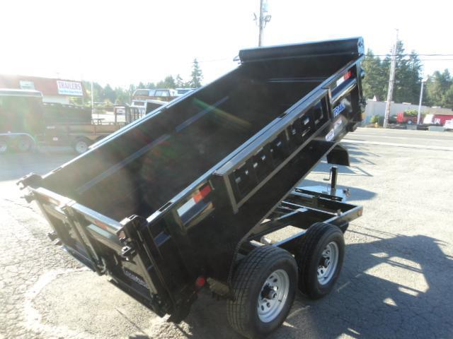 "2018 Load Trail 5x10 7K w/24"" Sides/Tarp Kit/Ramps Tandem Axle Dump"
