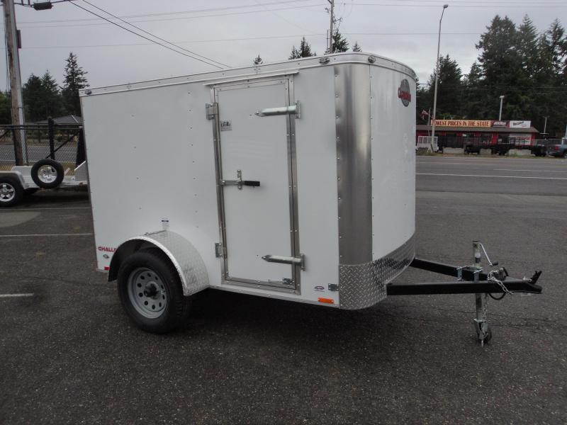 2018 Cargo Mate 5X8 Enclosed Cargo Trailer