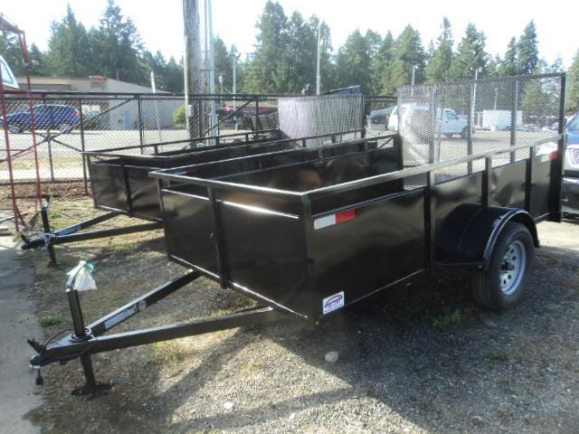 2018 Outlaw 6X12 Single Axle Utility Trailer