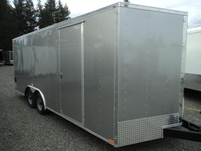 2018-Cargo Mate E-series 8.5x24 10K w/5K D-rings Enclosed Cargo Trailer