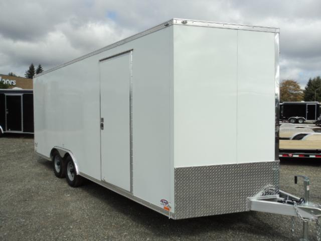 2017 Cargo Mate Aluminum E-Series 8.5x20 TA2 Enclosed Cargo Trailer