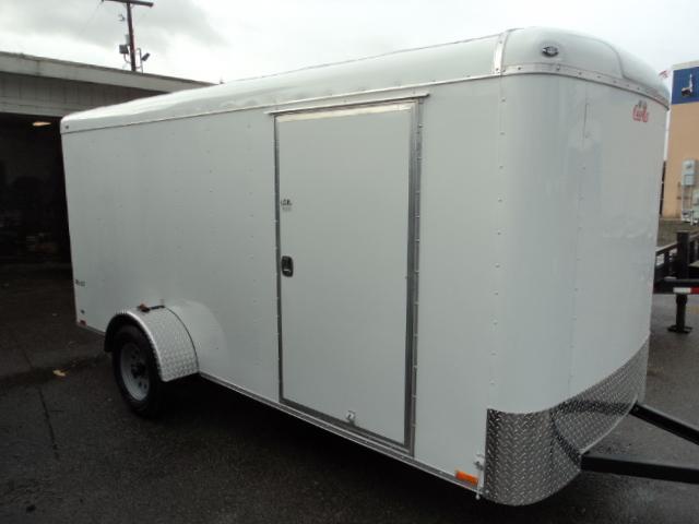 2018 Cargo Mate 6X14 W/REAR Cargo Doors /Cargo / Enclosed Trailer