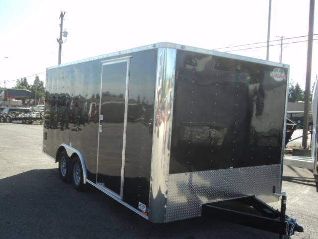 2018 Cargo Mate E-Series 8.5x20 7k LOADED!!  Cabinets/Vinyl ceiling and walls/110V Package