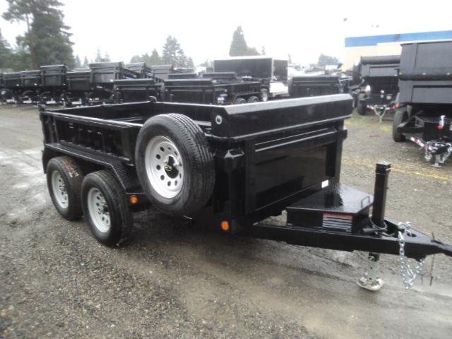 "2018 Load Trail 5X10 7K w/18"" Sides/Tarp Kit/Spare Tire/Ramps"