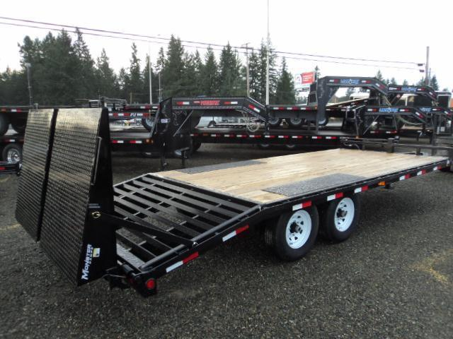 2020 PJ Trailer 8X22 14K Deckover w/Monster Ramps