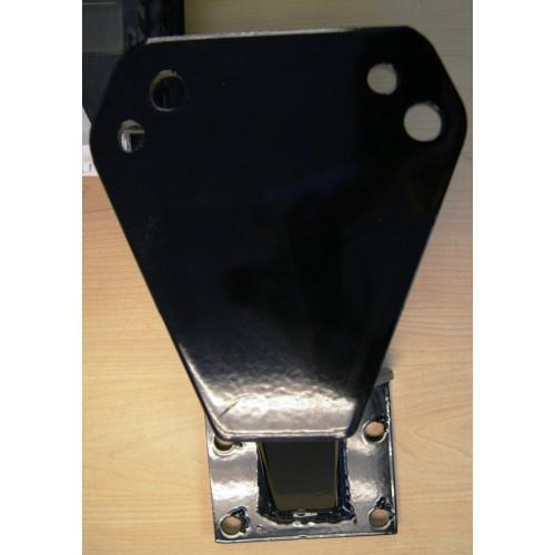 SPARE TIRE MOUNT HORIZONTAL MOUNTING PLATE
