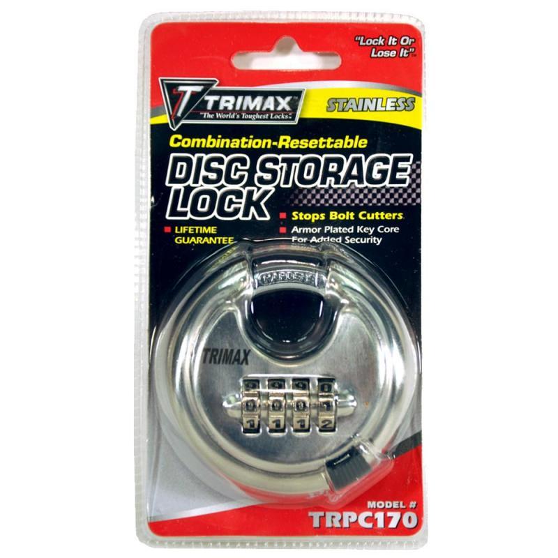 TRPC170 COMBINATION-RESETTABLE DISC LOCK